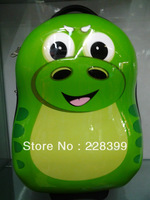 17 inch cute dinosaur trolley / child bag / hard shell bag / schoolbag children / children's toys / gifts