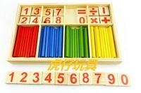Free Shipping Child stick wooden counting stick yakuchinone stick children toy