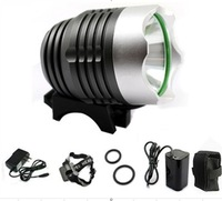 Domestic T6-4.2 lashlight LED flashlight T6 LED aluminum flashlight explosion-proof flashlight condenser HeadlampBicycle Lights