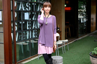 2013 New Korean version summer maternity dress, two-piece women dress sweater coat