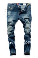 Free Shipping Top Brand Retail High Quality  Men's Denim Trousers  Fashion Leisure&Casual Pants Cotton Jean Slim Men Jeans