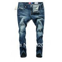 Free Shipping Top Brand High Quality  Men's Jean  Fashion Leisure&Casual Pants Cotton Jean Slim MenJeans World Brand JeanFor men