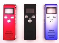 HOT sell ,8GB USB Digital Audio Voice Recorder Dictaphone MP3 Player ,V15 model, 1pc,