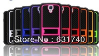 free ship fashionable car tyre case with stents case for Samsung S4 I9500
