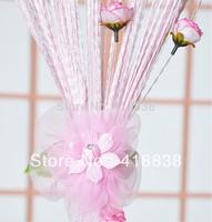 Free shippig-2Pcs  Curtain buckle,hook flower, flower belt, curtain tie back. curtain clips  accessories. WS-3008