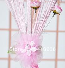 Grátis shippig - 2pcs Cortina fivela , flor gancho, cinturão de flores , cortina de amarrar atrás. cortina clips acessórios. WS- 3008(China (Mainland))