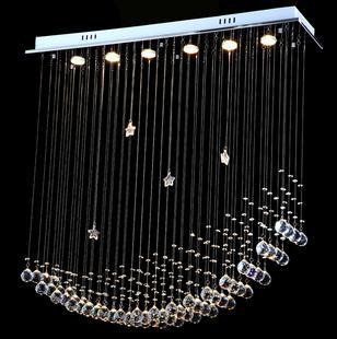 novo Stair chegada k9 lâmpada pingente de cristal de luz em espiral teto luminária lâmpada salão frete grátis(China (Mainland))