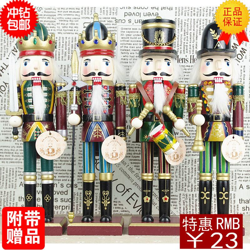 Nutcracker set home accessories decoration gift(China (Mainland))