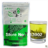 Free shipping 500g 2014 China Early Spring Green Tea Organic huge mountain Fresh green tea 125g*4