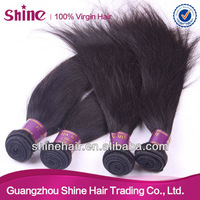 wholesale price and AAAAA grade 100 % virgin malaysian straight  hair