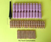 61pcs Tig torch Consumables
