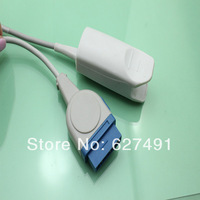 GE spo2 probe/transducer/sensor, masimo module, adult finger clip,  medical TPU,CE&ISO 13485, 10ft/3m