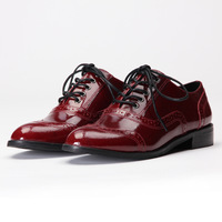 2013 hot sale business formal fashion cowhide men's round toe lacing genuine leather male leather shoes  free shipping