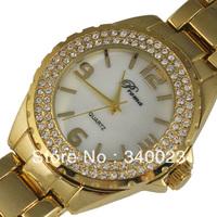 Бесплатные shippiing! Новая мода водонепроницаемый стильные часы кварцевые часов кожа женщин мода часы подарок наручные часы ХПК