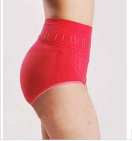 Wholesale stretch seamless underwear Girdles Women's hip abdomen postpartum abdomen shaping pants high waist briefs
