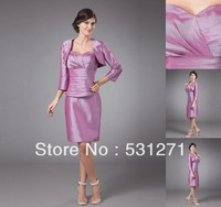 Free Shipping Modern of the Bride Dresses with Jacket Prom Dresses Lace Wedding Dresses 201212278357