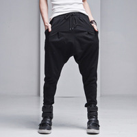 free shipping hot sales,2013 new style,Haroun pants, casual low crotch pants,men's fashion korean tide sweatpants, drop shipping