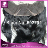 High quality Indian virgin remy hair lace frontal 13*4 fast shipping
