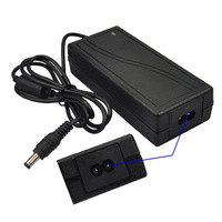 24V 3A Power Adapter for CCTV Security Camera - Black (AC 100~240V)
