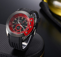 Three-color fashion male watch casual outdoor table v6 pc21 movement table strap table alloy sheet