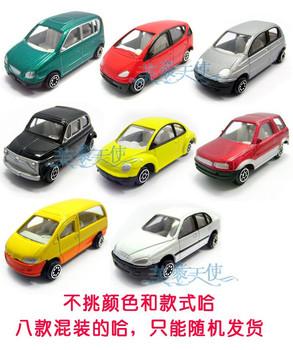 free shipping 8 mini alloy car model 3.9 toy car 0.04