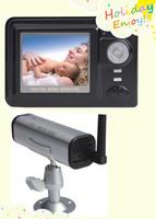 2.4G Wireless Digital Monitoring System camera baby monitor  H185