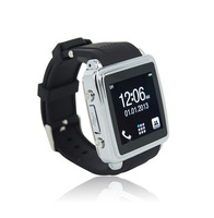 "1.54"" touch screen smart bluetooth watch phone MQ588L can make calls from watch,avoid loss Black"