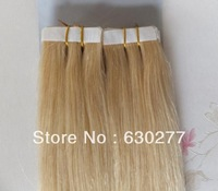 2013 New Hair Extensions,High Quality Skin Weft 100g/pc #613 16inch Straight