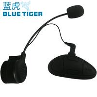 Free shipping Sk-bh-m1 motorcycle helmet bluetooth earphones stereo meters intercommunicating rainproof windproof