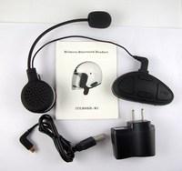 M1 motorcycle wireless bluetooth earphones helmet stereo bluetooth earphones meters intercommunicating rainproof windproof