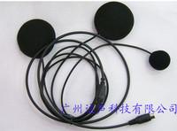Free shipping Motorcycle helmet earphones motorcycle earphones walkie talkie helmet earphones