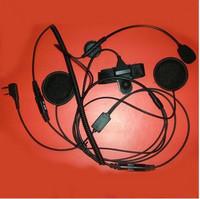 Free shipping Walkie talkie earphones motorcycle helmet walkie talkie earphones ft-122k