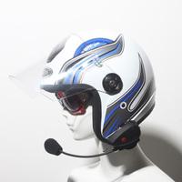 Free shipping Fm function walkie talkie motorcycle skiing helmet bluetooth interphone