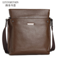 2103 New Fashion Genuine Leather Man Bag Business Casual Shoulder Bag Messenger Bag Briefcase Brand Handbag 1 Pce Wholesale