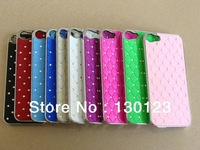 9 Colors Bling Crystal Diamond Crystal Hard Back Case Cover For Iphone 5 5G 20 Pcs