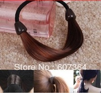 Fashion wig hairband hair rope hair ring hair accessory+22 colors 200pcs/lot