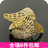 Fashion vintage accessories 2013 rhinestone female big ring