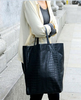 2013 python fashion shopping bag crocodile pattern shopping bag
