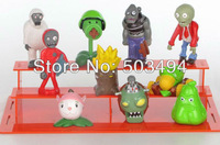 Plants VS Zombies PVZ Collection Figures 10pcs/set boss zombies snow figure retail package