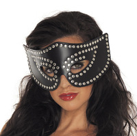 riveting leather mask night girl mask  female mask stud 2013 new style