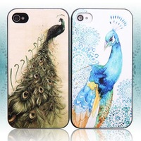 Chinese style peacock  for apple   4 mobile phone case iphone4 4s vintage phone case protective case