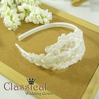 Classical precedes bride classical flower vine flower pearl the bride hair bands hair accessory