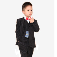 Corduroy child  formal suit  Formal dress  children's clothing male child blazer