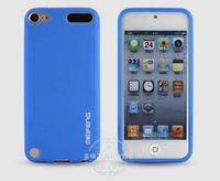 5pcs/lot protective sleeve Apple ipod touch5 Following from Protect shell Scrub sets Dazzle colour  leather case