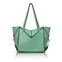 Fashion bag 2013 candy color shoulder bag women's handbag color block large capacity bag fashion shopping bag