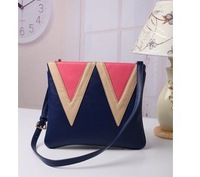 2013 candy color block shopping bag