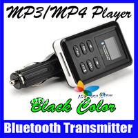 Portable Bluetooth Car MP3/MP4 Player Kit 12V FM Transmitter USB/SD/MMC With Remote Control 10Pcs/lot DHL/EMS Free Shipping!!