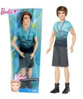 fashion girls doll ken baby boy firend free shipping 30cm tall brown hair baby doll christmas gift
