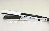New Ionic Professional Nano Titanium Ceramic Hair Straightening Hair Straightener Iron Wet/Dry Hair Dual-Use Free Shipping