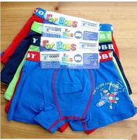 Wholesale kids underwear/ Cotton Boy's Briefs,Character Children  boxer underwear Free Shipping